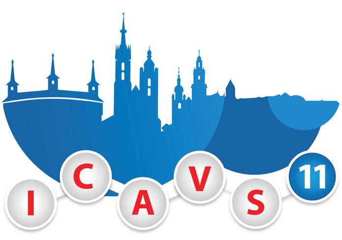 ICAVS 11 logo