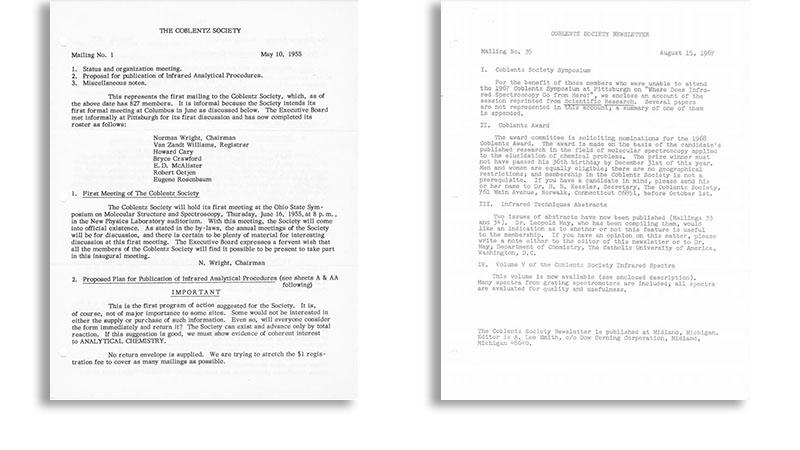 Early Coblentz Newsletters
