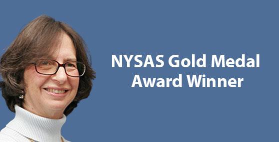 Dr. Fran Adar - NYSAS Gold Medal Award Winner